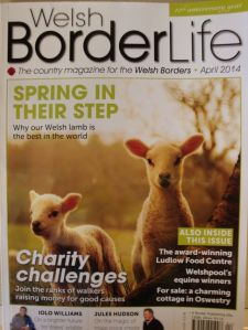 Welsh Border Life Cover 04.2014